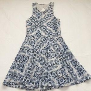 Aeropostale Printed Design Halter Dress